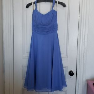 Beautiful periwinkle dress